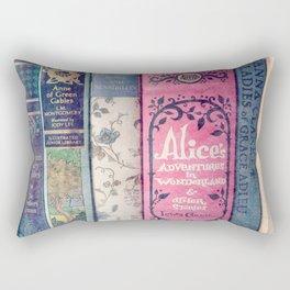 A Perfect Library photo Rectangular Pillow