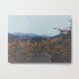 Crowded hills  Metal Print
