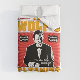 The Wolf - Pulp Fiction Comforters