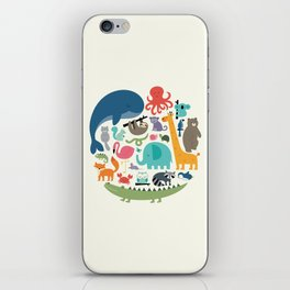 We Are One iPhone Skin