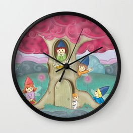 LovelySprites Wall Clock