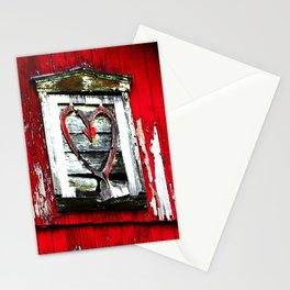 Barn Heart Stationery Cards