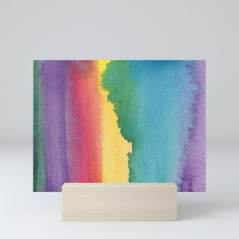 Color Blocking 30 Mini Art Print