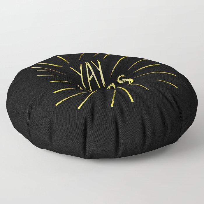 yay carbs Floor Pillow
