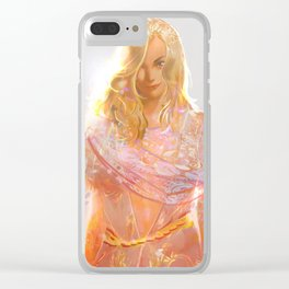 """Aphrodite (""""Charm of of the Ancient Enchantress"""" Series) Clear iPhone Case"""