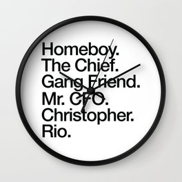 Rio AKA... Wall Clock