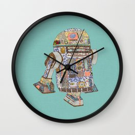R2D2 Crashed Into A Flower Shop Wall Clock