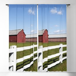 Tobacco Barns in Windsor Connecticut Blackout Curtain