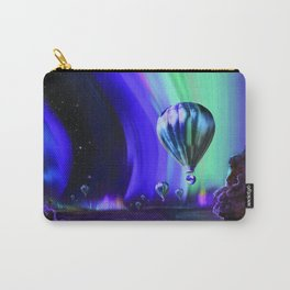 NASA Jupiter Planet Retro Poster Futuristic Best Quality Carry-All Pouch