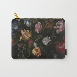 Jacob Vosmaer - A Vase with Flowers (1613) Carry-All Pouch