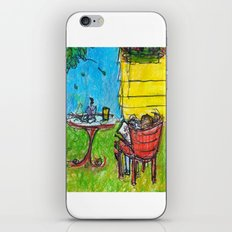 Weekends with Karl iPhone & iPod Skin
