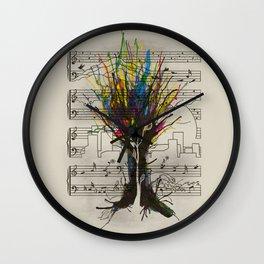 Ink Chords Wall Clock