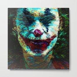 you can smile, no Metal Print