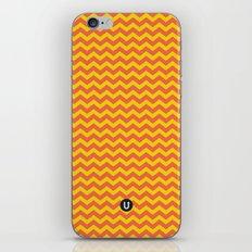 U14: sunset chevron iPhone & iPod Skin