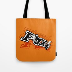 Two-Tailed Fox Tote Bag