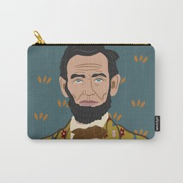 Abe Lincoln Carry-All Pouch