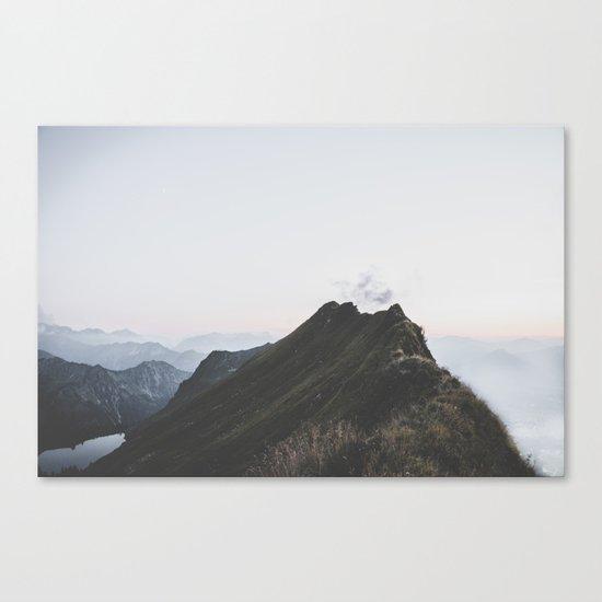 path - Landscape Photography Canvas Print