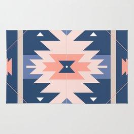 Kilim Inspired Navy Rug