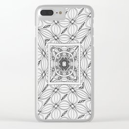 Kisses Sweeter Than Wine Clear iPhone Case