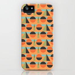 Modern Century Geometric Dessert Cactus 3 iPhone Case