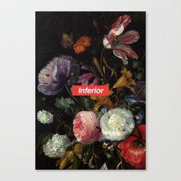 Anti Supreme Canvas Print