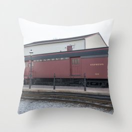 Strasburg Railroad Series 23 Throw Pillow