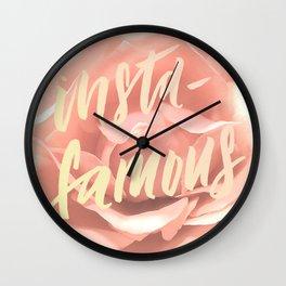 Insta-Famous Wall Clock