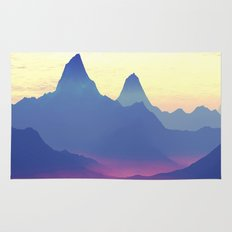 Mountains of Another World Rug