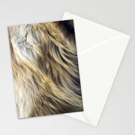 Golden Retriever Fur Stationery Cards