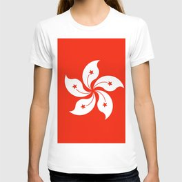 Flag of hong kong T-shirt