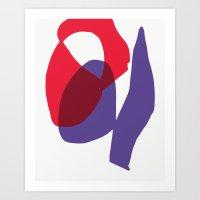Matisse Shapes 9 Art Print