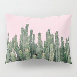 Pink Sky Cactus Pillow Sham