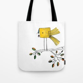 Nosy Bird Tote Bag