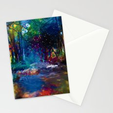Cours d'eau Stationery Cards