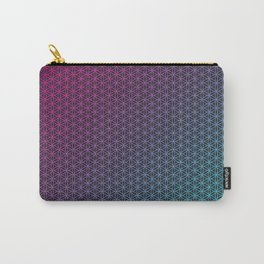 Flower of Life - Hot Gradient Carry-All Pouch