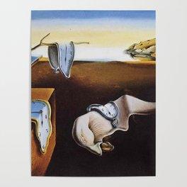 THE PERSISTENCE OF MEMORY - SALVADOR DALI Poster