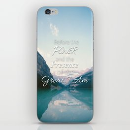 The Great I Am iPhone Skin
