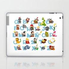 ABC  medieval (spanish) Laptop & iPad Skin