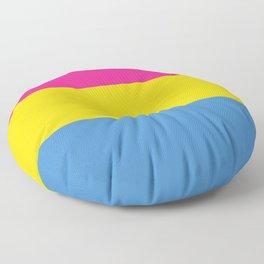 Pansexual Pride Floor Pillow
