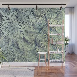 sea of flakes Wall Mural