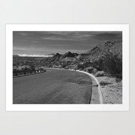 Rugged Roadway Art Print