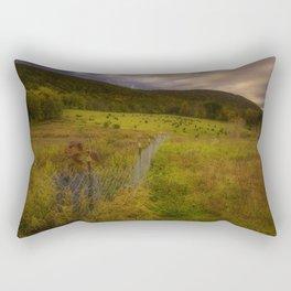 Harmony in autumn Rectangular Pillow