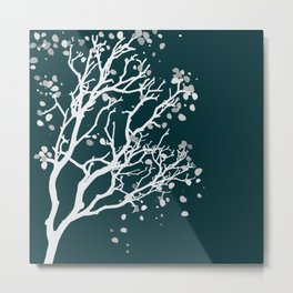 Ghostly Branches 1 Metal Print