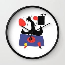 Joan Miro Painting Wall Clock