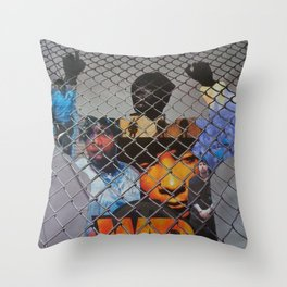 """WAR"" Throw Pillow"