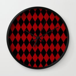 Jester Harley Quinn Wall Clock
