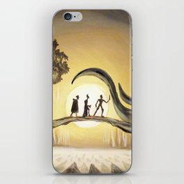 The Tale of the Three Brothers iPhone Skin