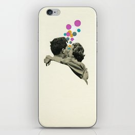 First Kiss iPhone Skin