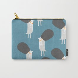 White britsh birds Carry-All Pouch