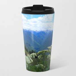 Olympic Mountains from Hurrican Ridge Travel Mug